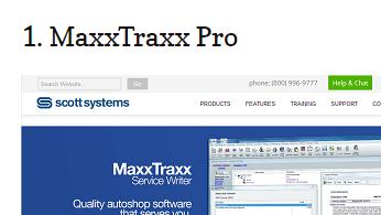 MaxxTraxx - Reviews of our Auto Repair Shop Management Software